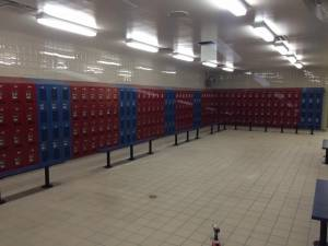 New Port Richey lockers for school