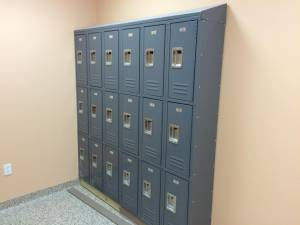Pinch A Penny locker installation